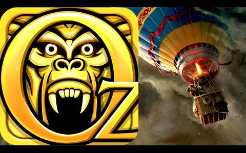 TEMPLE RUN: OZ!! Gameplay Part 1 (iPhone Let's Play)【Play Games】