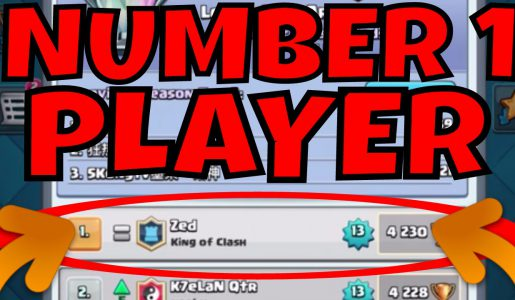 Clash Royale :: #1 PLAYER IN THE WORLD :: HIS DECK & TIPS!【Play Games】