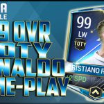 FIFA Mobile 99 OVR TOTY RONALDO GAMEPLAY!! BEST CARD IN THE GAME!!【Play Games】