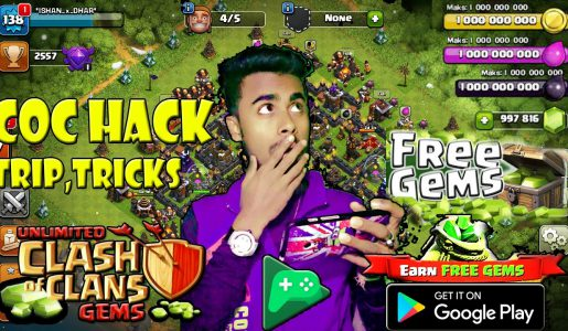 Clash of clan hack 2017 | BEST Trip,Tricks &  with game play 100% work Must watch |HINDI|【Play Games】