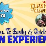 Clash of Clans – How to Easily and Quickly Level Up! – MUST SEE!!!【Play Games】