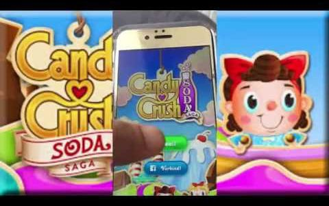 Candy crush soda saga hack : How to get unlimited gold ios/android【Play Games】