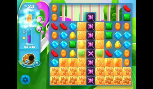 Candy Crush Soda Saga Level 450 Walkthrough【Gameplay】