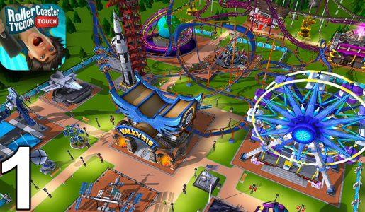 RollerCoaster Tycoon Touch – Getting Started – Gameplay Part 1 (iOS Android)【Play Games】