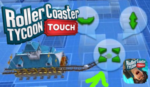How To Build a Roller Coaster | RollerCoaster Tycoon Touch (IOS & Android) | #4【Play Games】