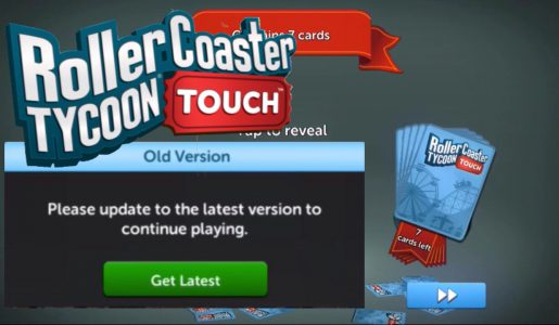 An Update??   Opening Packs   RollerCoaster Tycoon Touch (IOS & Android)   RCT Touch   #5【Play Games】