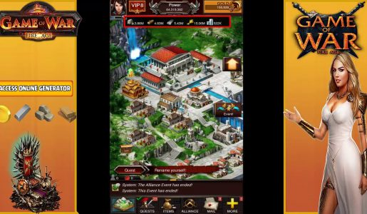 Game Of War Fire Age Hack – Cheats Unlimited Chips And Gold For Android IOS and Bluestack【Play Games】