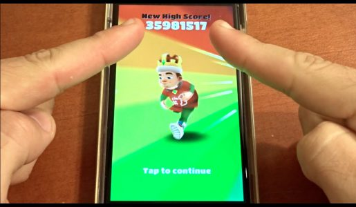Over 35 Million Points on Subway Surfers! NO HACKS OR CHEATS!【Play Games】
