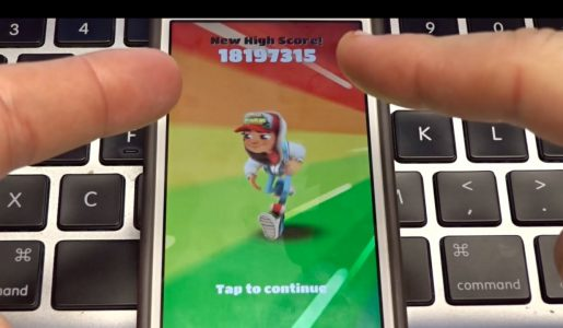 Over 18,000,000 Points on Subway Surfers!? No Hack!【Play Games】