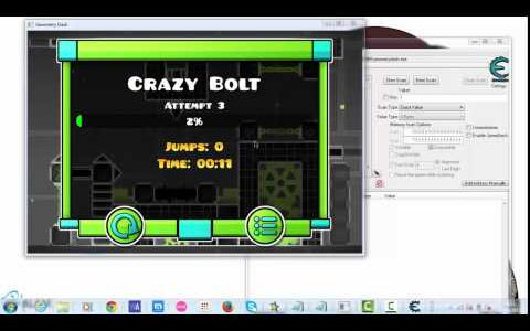 Geometry Dash World (GDW) Complete Any Level Hack! [Steam Tutorial]【Play Games】
