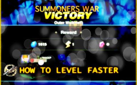 Summoners War – How To Level Faster (Powerlevelling Tips and tricks)【Play Games】