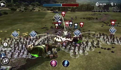 Dawn of Titans Walkthrough Review : 460k def Max Level Garrison (1.13.2)【Play Games】