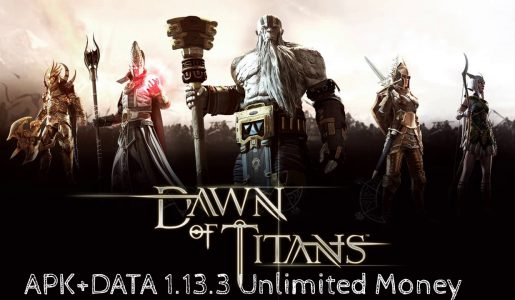 Dawn of Titans Hack MOD APK+DATA 1.13.3 'Unlimited Money'