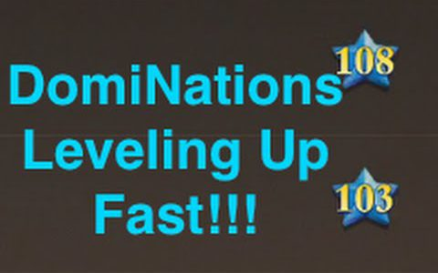 DomiNations – How to Level Up Fast!【Play Games】