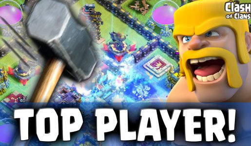 "Clash of Clans ""World #1 Player Attacked!"" Shocking Losses in CoC【Play Games】"