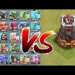 Clash Of Clans – BOMB TOWER!! Vs. ALL TROOPS!! (New Defense update)【Play Games】
