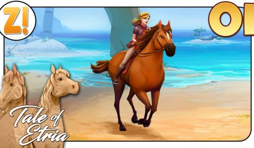 Horse Adventures – Tale of Etria: Eine mystische Pferdewelt #1 | Let's Play [DEUTSCH]【Play Games】