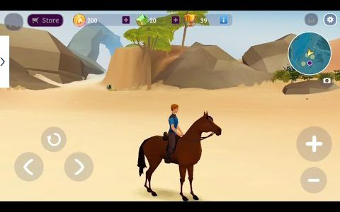 Horse Adventure: Tale of Etria (by Ubisoft Entertainment) – adventure game for android – gameplay.【Play Games】