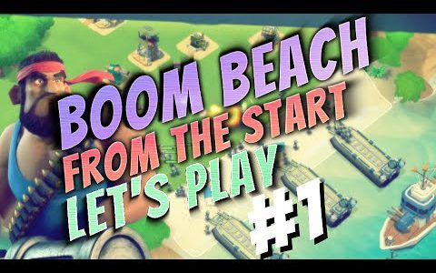 Boom Beach Beginners Let's Play – From The Start : Ep. 1【Play Games】