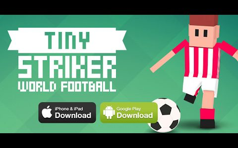 Tiny Striker: World Football (By Fat Fish Games Ltd) – IOS/Android Gameplay【Play Games】