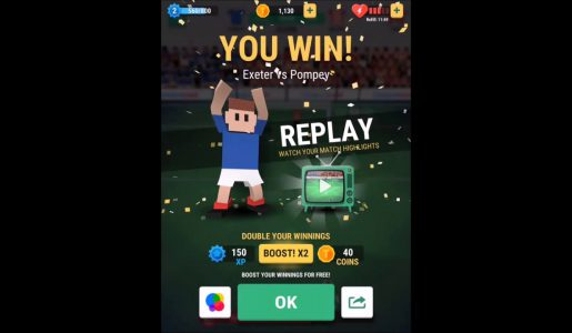 Tiny Striker World Football – Gameplay Walkthrough Part 1 (iOs Android)【Play Games】