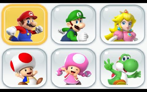 Super Mario Run – All Characters Unlocked + Gameplay Showcase