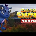 Subway Surfers : Dino Gameplay World Tour in Tokyo Japan【Play Games】