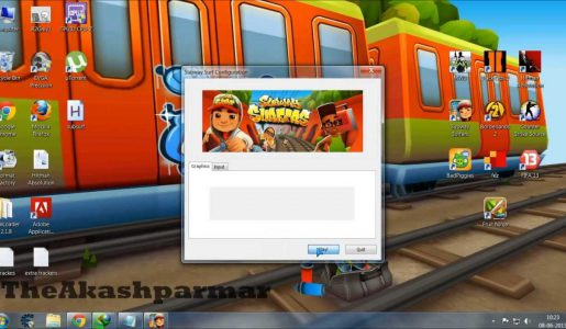 How to play subway surfers on PC with keyboard / arrow keys [Working 2016]【Play Games】