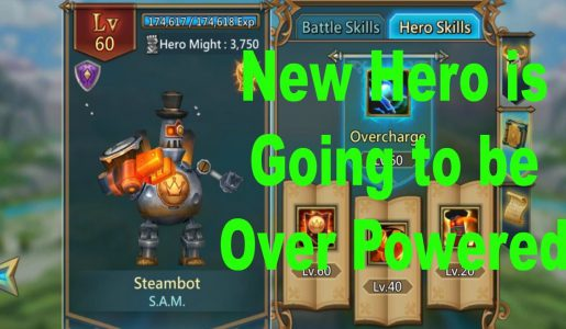 The Best Cavalry Lords Mobile Hero Steambot Review and Gameplay!【Play Games】