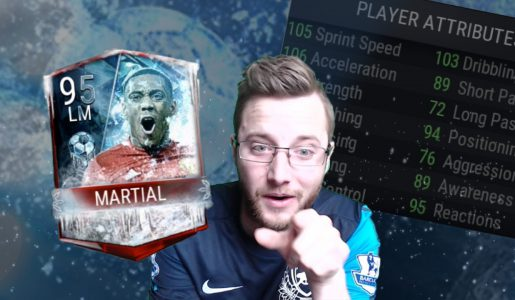 FIFA Mobile Football Freeze Master! 95 OVR Anthony Martial Set Completion! Gameplay, plus Nutmeg?【Play Games】