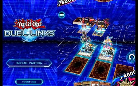 Gameplay YUGIOH Duel Links en Español con Animaciones y Dobles Duelos 3D 2017【Play Games】