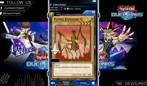 Building Weevil Deck & Game Play – Yu-Gi-Oh! Duel Links【Play Games】