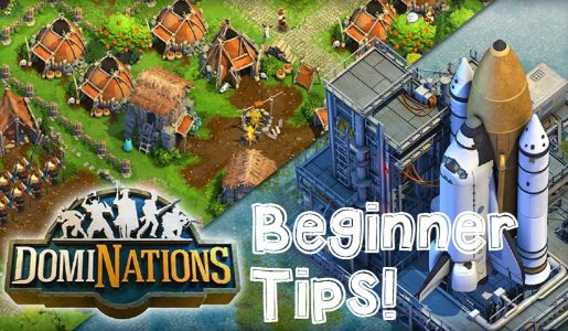 DomiNations Android/iOS Gameplay Beginner Guide and Tips: Hunting, Town, Barracks, Soldier, Upgrades!