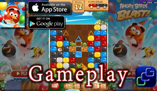 Angry Birds Blast Android iOS Gameplay【Play Games】