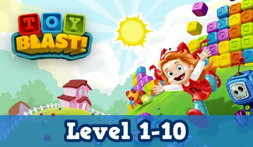 Toy Blast Level 1-10 Gameplay Walkthrough forBiginner【Play Games】