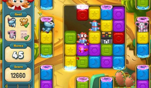 Toy Blast Level 641 Gameplay【Play Games】