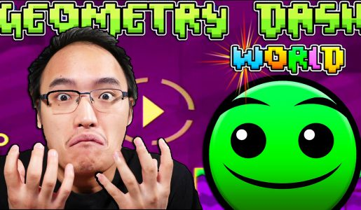 J'AI DÉJÀ TERMINÉ LE JEU ?! | Geometry Dash World【Play Games】