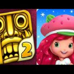 Temple Run 2 VS Strawberry Shortcake Berry Rush iPad Gameplay HD【Play Games】