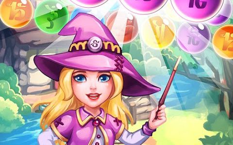 Panda Witch Pop Bubble Shooter – Android/iOS Gameplay【Play Games】