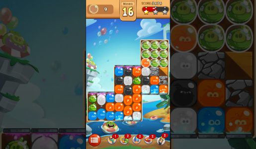 Angry Birds Blast Level 55 – 3 Stars Walkthrough【Gameplay】