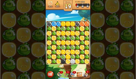Angry Birds Blast Level 33 – 3 Stars Walkthrough【Gameplay】
