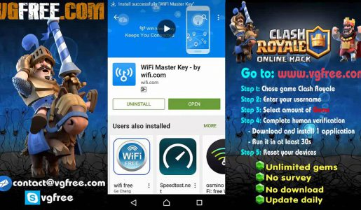 Clash royale hack lucky patcher | cheats codes android