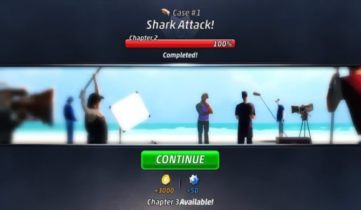 Criminal Case Pacific Bay Case #1 – Shark Attack! : Chapter 2【Play Games】