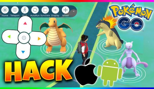 How to hack POKEMON GO ios & Android! Cheat (No Jailbreak)【Play Games】