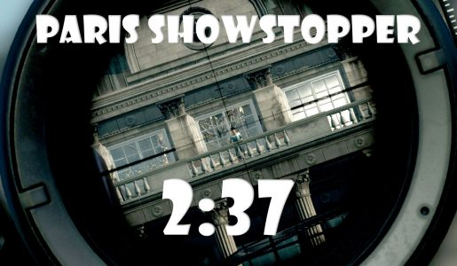 Hitman Sniper 2016 [PC] Fast Paris Showstopper Speedrun. (2:37)【Play Games】