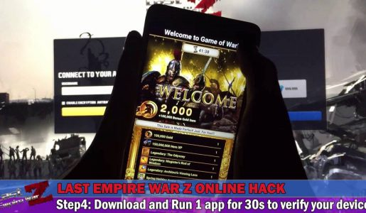 Last Empire War Z Hack No Survey – Android & iOS Cheats【Play Games】