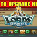 Lords Mobile: How to Upgrade Heroes in Lords Mobile ● New Player Tutorial Guide (Android Gameplay)【Play Games】