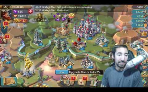 Lords Mobile BEST WAY TO BUILD TROOPS FAST   WHAT TROOP DO YOU USE【Play Games】