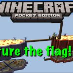 Minecraft Pocket Edition Capture the Flag #1 Carrying【Play Games】