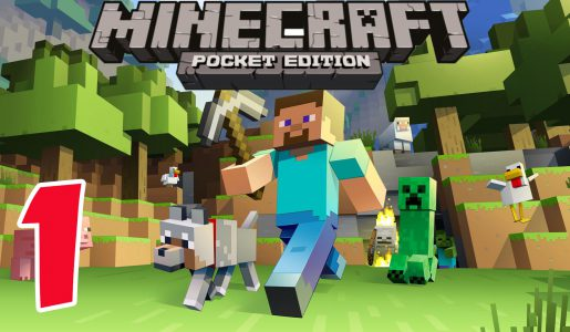 Minecraft PE – Survival Mode – Gameplay Part #1 – Let's Play Video Game Commentary – MCPE【Play Games】